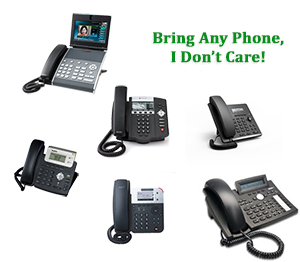 Bring any SIP phone to my Hosted VoIP Platform Service