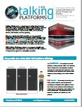 Talking Platforms Brochure - Click to Download
